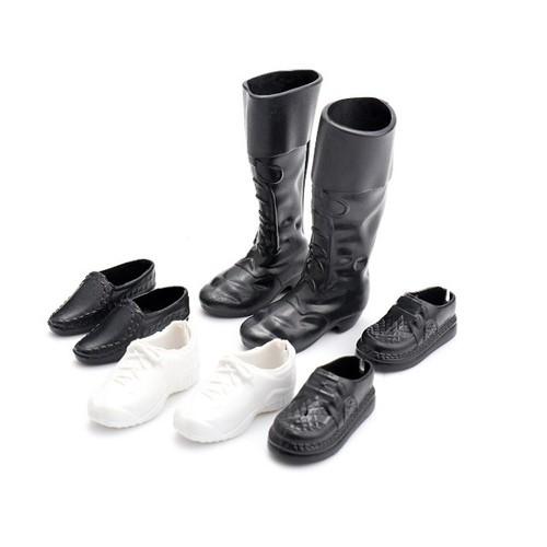 Bộ giầy bốt dành cho búp bê hoàng tử ken 04 bộ