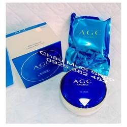 1 Phấn Nước AGC + 1 Lõi Thay Thế - Blue Diamond Cushion BB Cream  Hàn Quốc