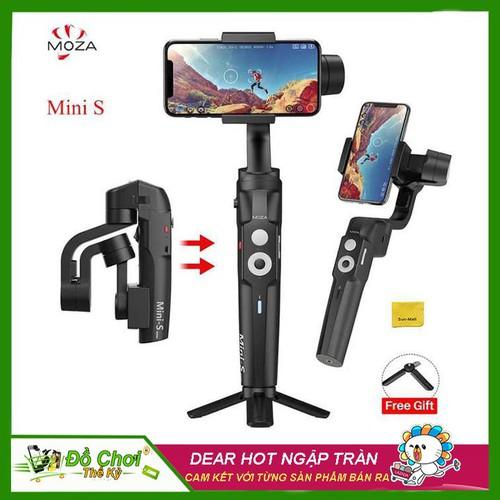 [ BẢO HÀNH 12 THÁNG ] Tay cầm Gimbal chống rung cho điện thoại Moza Mini S dùng quay phim, chụp ảnh làm Vlog, gấp gọn, Pin sử dụng lên đến 8H, HÀNG…