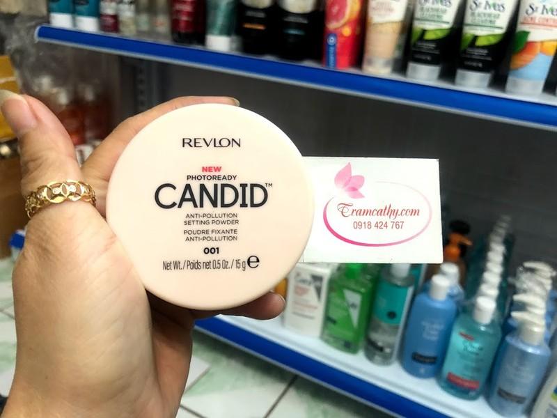 Phấn phủ kiềm dầu Revlon candid 4