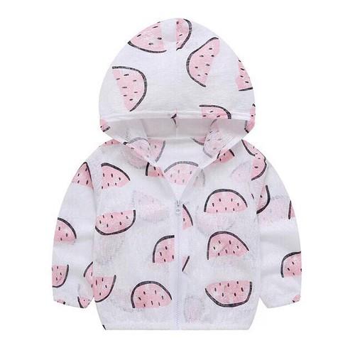 Áo chống nắng cotton giấy cho bé yêu {mẫu số 1}