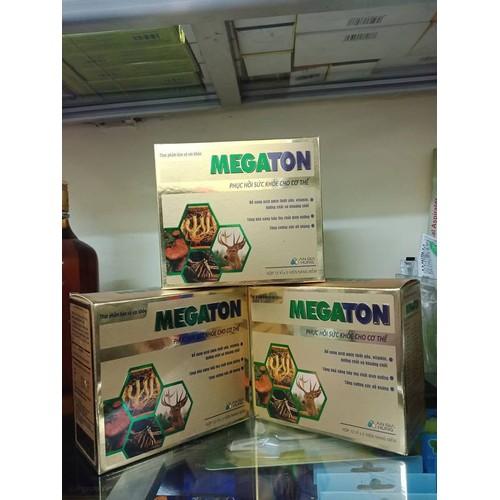 Megaton phục hồi sức khỏe cho cơ thể hộp 12 vỉ x 5 viên - 17268131 , 19350387 , 15_19350387 , 150000 , Megaton-phuc-hoi-suc-khoe-cho-co-the-hop-12-vi-x-5-vien-15_19350387 , sendo.vn , Megaton phục hồi sức khỏe cho cơ thể hộp 12 vỉ x 5 viên