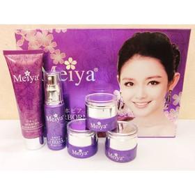 Mỹ phẩm Meiya tím, Bộ mỹ phẩm trắng da, đặc trị nám tàn nhang cao cấp - Nhật Bản - Meiya tím