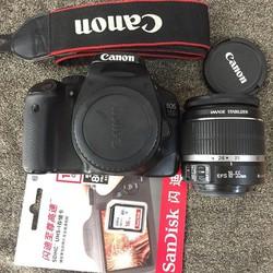 Bộ máy ảnh canon 550D kèm lens 35-80