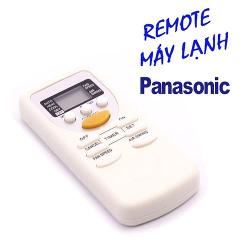 Remote máy lạnh, điều khiển điều hòa panasonic loại 10 nút nhấn