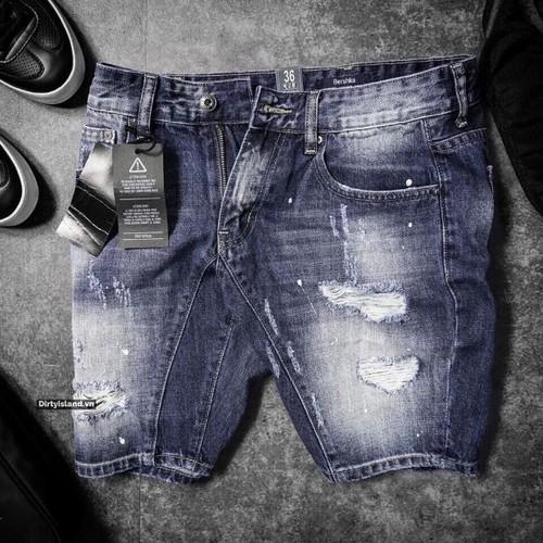 Quần short jeans nam cao cấp hiện đại