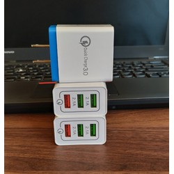 Củ sạc nhanh Quick Charge 3.0 - 3 cổng USB OT3