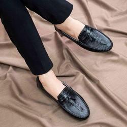 Giày Moca Nam Đẹp Có Chuông- Giày Nam- Shop Giày Nam - Đế Chắc Chắn, Thiết Kế Trẻ Trung, Sang Trọng - Hợp Thời Trang- Dễ Phối Với Nhiều Loại Trang Phục Khác Nhau, Đảm Bảo Chất Lượng Và Giá Tốt Nhận Hàng Thanh Toán Tiền Ship Cod Toàn Quốc - Giày- M117