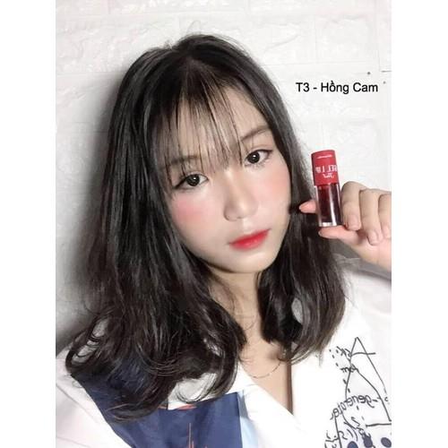 Son Tint siêu lì Khánh Vân T3 Hồng Cam
