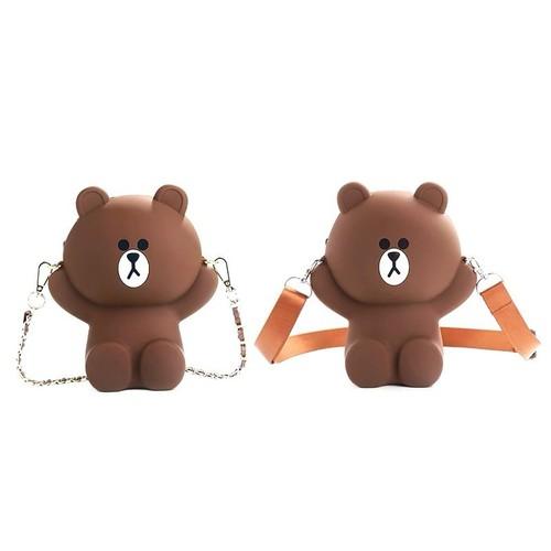 Túi gấu silicon kèm 2 dây đeo - 11155326 , 19395440 , 15_19395440 , 295000 , Tui-gau-silicon-kem-2-day-deo-15_19395440 , sendo.vn , Túi gấu silicon kèm 2 dây đeo
