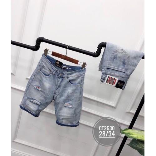 Quần short jeans nam cao cấp cute