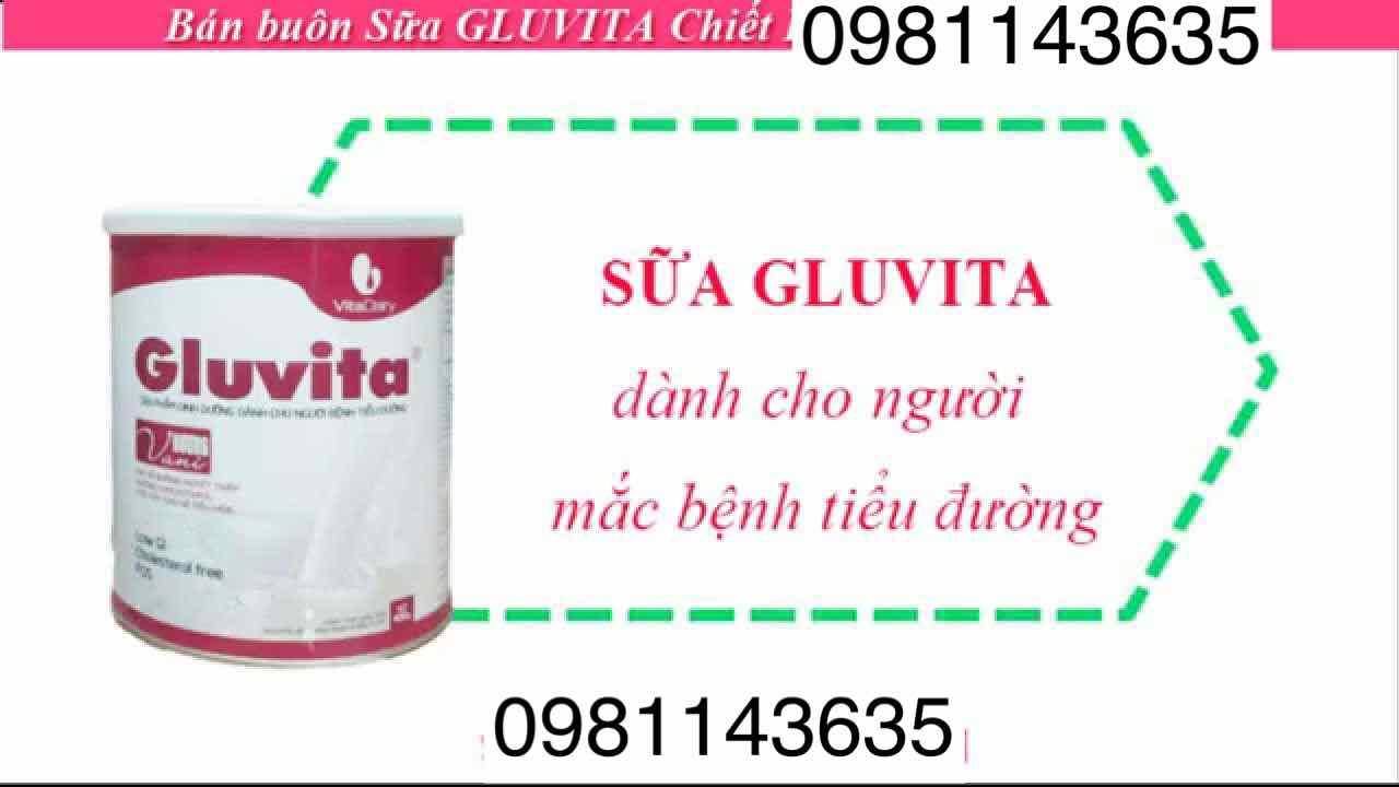 Sữa Gluvita cho người tiểu đường 400g