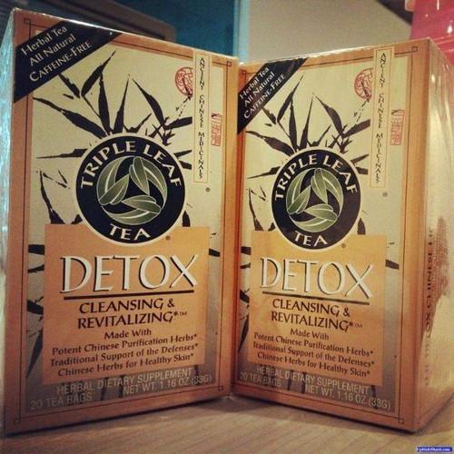 Trà thải độc cơ thể Detox Triple Leaf Tea Cleansing & Revitalizing - 11586668 , 19380813 , 15_19380813 , 175000 , Tra-thai-doc-co-the-Detox-Triple-Leaf-Tea-Cleansing-Revitalizing-15_19380813 , sendo.vn , Trà thải độc cơ thể Detox Triple Leaf Tea Cleansing & Revitalizing