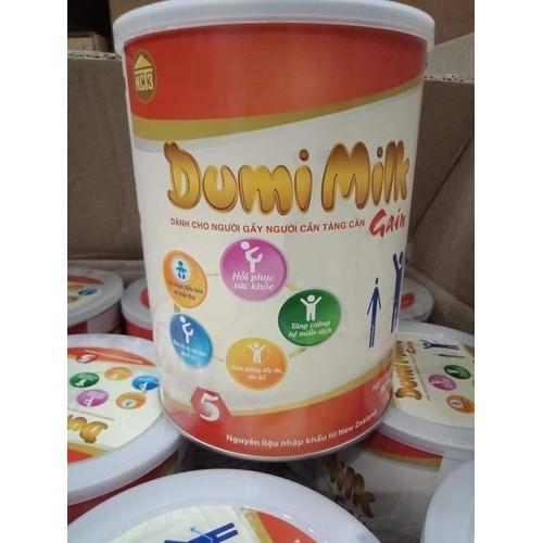 sữa bột Dumi Milk Gain dành cho người gầy, người cần tăng cân 900g - 11428137 , 19394305 , 15_19394305 , 499000 , sua-bot-Dumi-Milk-Gain-danh-cho-nguoi-gay-nguoi-can-tang-can-900g-15_19394305 , sendo.vn , sữa bột Dumi Milk Gain dành cho người gầy, người cần tăng cân 900g
