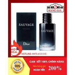 Nước hoa nam Dior Sauvage EDT 100ml-Bao Test