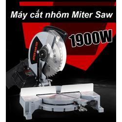 Máy cắt nhôm miter saw 255, may cat nhom