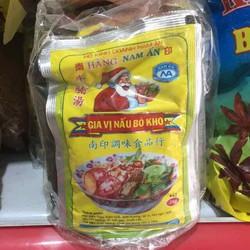 Gia vị nấu bò kho Nam Ấn lốc 20 gói