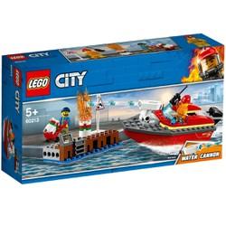Bộ lắp ráp Cứu Hỏa Bến Tàu - LEGO City 60213