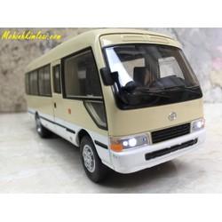 Mô hình xe ô tô Bus TOYOTA Coaster 1:32