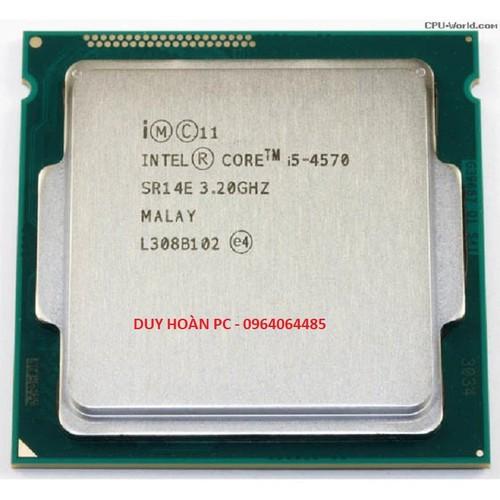 Cpu core i5 4570 3.2ghz socket 1150 kèm fan bảo hành 12 tháng