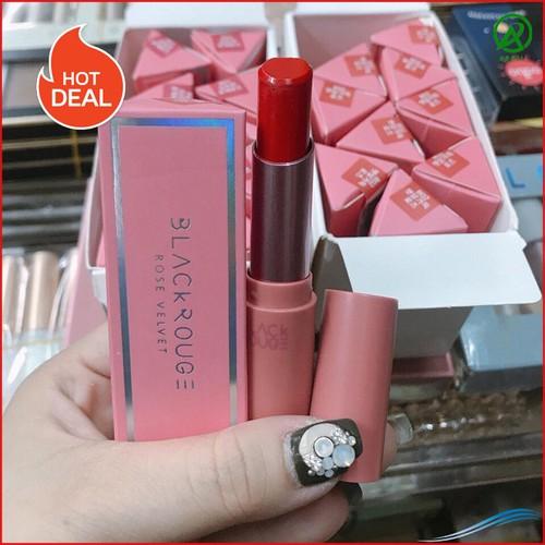 Son thỏi black rouge rose velvet lipstick art465