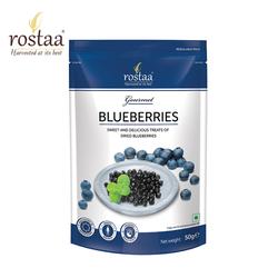 [ Sản Phẩm Mỹ] Quả Việt Quất 150g - Blue berries - Trái cây sấy Rostaa - Đồ ăn vặt cho bà bầu - thực phẩm hữu cơ