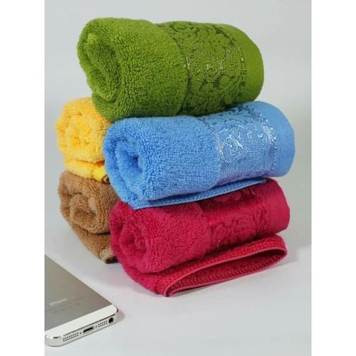 Combo 6 khăn mặt sợi tre