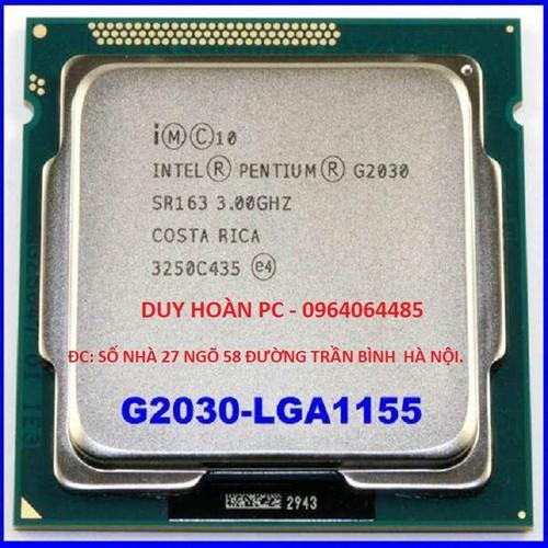 Cpu g2030 socket 1155 bảo hành 6 tháng tặng kèm fan mới tinh