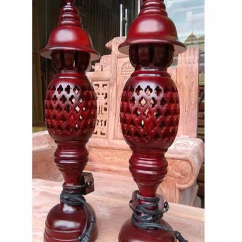 Bộ đèn thờ bằng gỗ