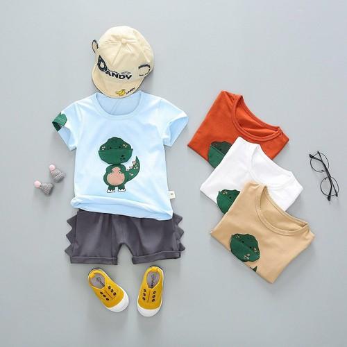Bộ khủng long quần đũi cho bé