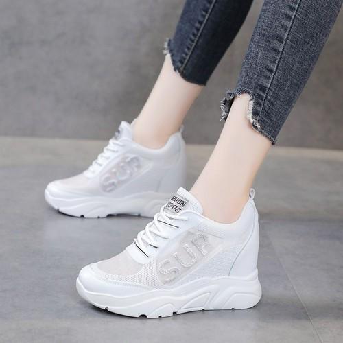 Giày trắng lưới nữ 2019 hè mới - giày nữ hoang dã đế dày đế cao giày đế mềm - 11874761 , 19409889 , 15_19409889 , 140000 , Giay-trang-luoi-nu-2019-he-moi-giay-nu-hoang-da-de-day-de-cao-giay-de-mem-15_19409889 , sendo.vn , Giày trắng lưới nữ 2019 hè mới - giày nữ hoang dã đế dày đế cao giày đế mềm