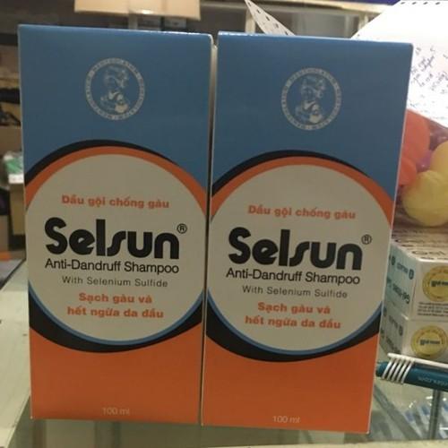 Dầu gội selsun -trị gàu hiệu quả chai 100ml