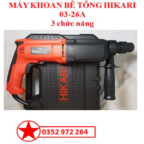 Máy khoan bê tông hikari 03-26a - 3 chức năng