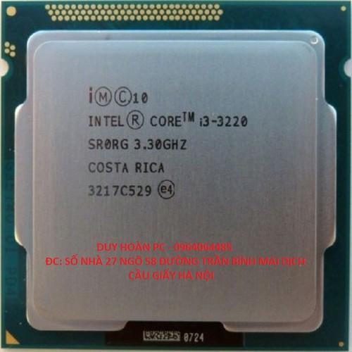 Cpu g3220 3.1ghz socket 1150 chạy main h81 và b85 bảo hnahf 12 tháng
