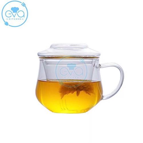 Ly lọc trà thủy tinh chịu nhiệt lanya 300 ml