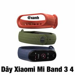 Dây Đeo Xiaomi Mi Band 3 4 Siêu Mềm