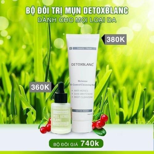Combo mặt nạ thải độc detox blanc chính hãng kèm serum peel trị mụn - 11871563 , 19404406 , 15_19404406 , 700000 , Combo-mat-na-thai-doc-detox-blanc-chinh-hang-kem-serum-peel-tri-mun-15_19404406 , sendo.vn , Combo mặt nạ thải độc detox blanc chính hãng kèm serum peel trị mụn