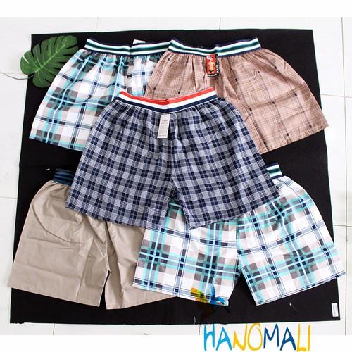 Bộ 5 quần shorts nam mặc nhà