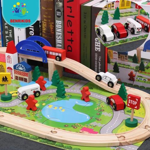 Đồ chơi lắp ghép mô hình giao thông thành phố
