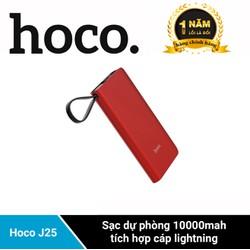 Pin sạc dự phòng Hoco J25 10000mah Sạc dự phòng tích hợp cáp lightning - Nhà phân phối chính thức