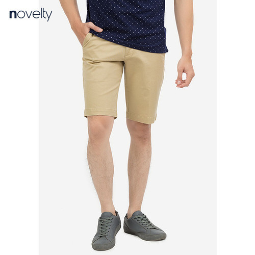 Quần shorts novelty regular fit màu be nskmmnmcsr1800720