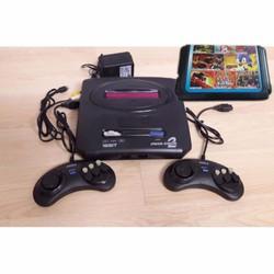 Máy chơi game Sega Mega Drive độ phân giải 16 bit Kèm băng game 8 in1