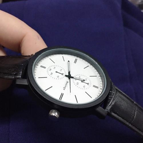 Đồng hồ da thời trang nam đẹp