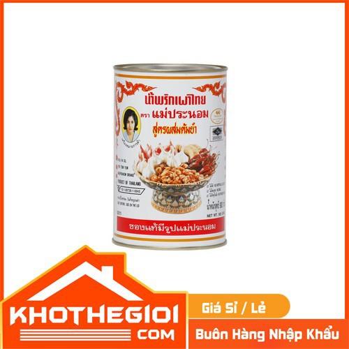 Dầu sa tế lẩu thái - chilli in oil for tom yum chuẩn thái lan 900g