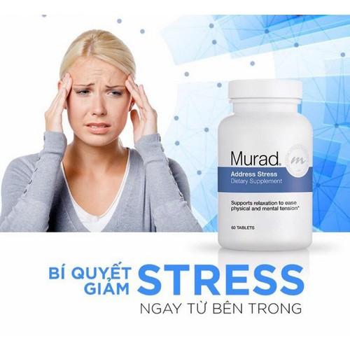 Viên uống giảm căng thẳng murad address stress dietary supplement  hộp - 11892261 , 19437321 , 15_19437321 , 1299000 , Vien-uong-giam-cang-thang-murad-address-stress-dietary-supplement-hop-15_19437321 , sendo.vn , Viên uống giảm căng thẳng murad address stress dietary supplement  hộp