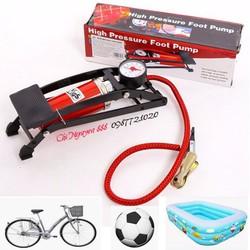 Bơm hơi đạp chân | Bơm xe đạp | Bơm bóng | Bơm bể bơi | CN186.kt8v