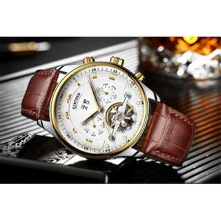 đồng hồ cơ nam lộ máy chính hãng kinuyed automatic cao cấp - dhcoky thumbnail