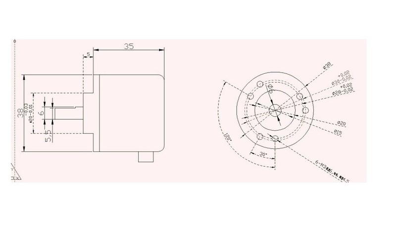 Bộ cảm biến encoder Rotary 4