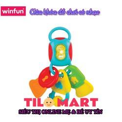 Chìa khóa đồ chơi có nhạc Winfun