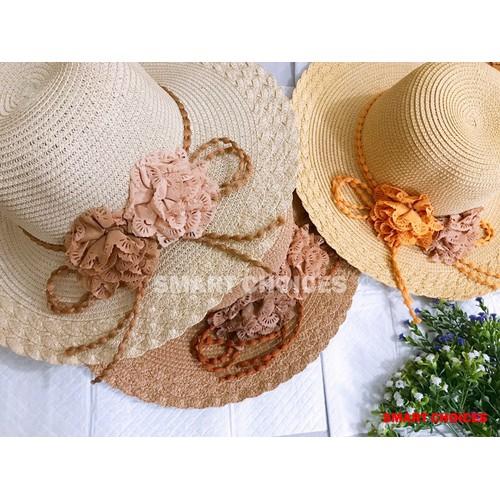 [Siêu sale] nón cói đi dạo biển- nón cói thắt dây sam quang nón cực xinh